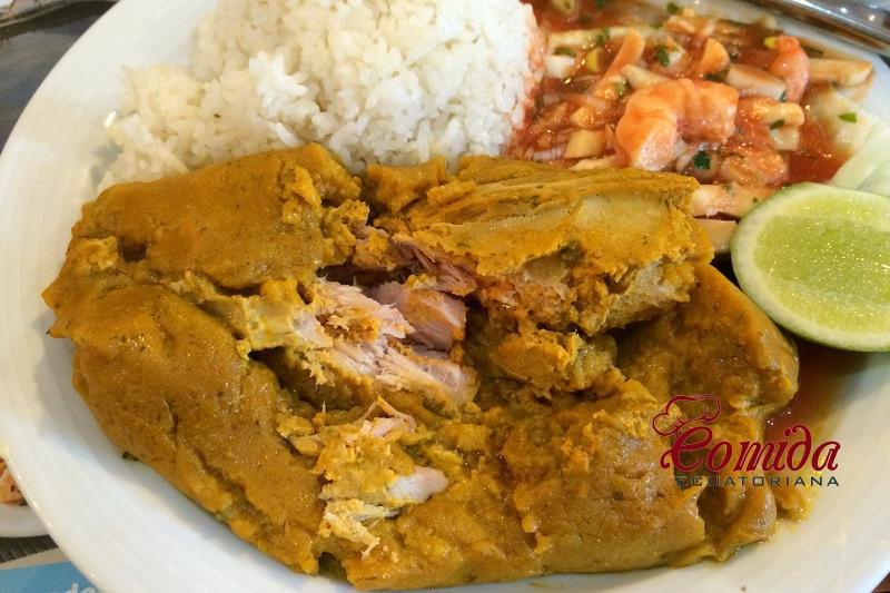 Bollo de pescado ecuatoriano