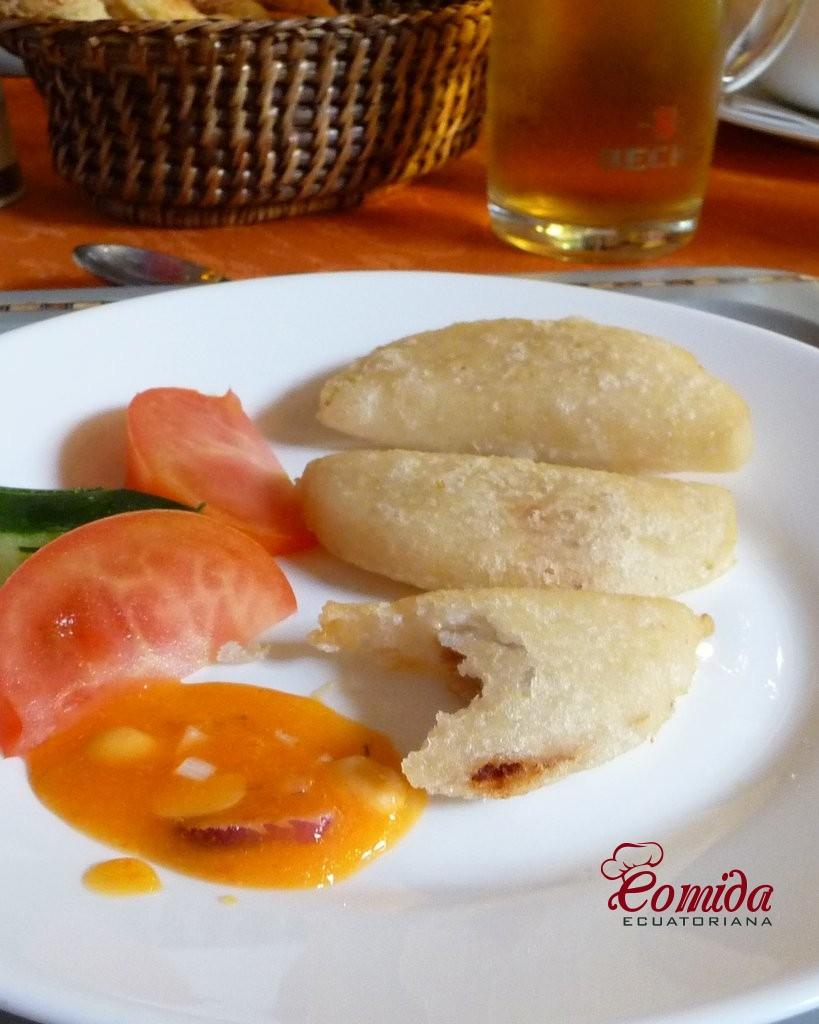 Empanadas ecuatorianas de morocho