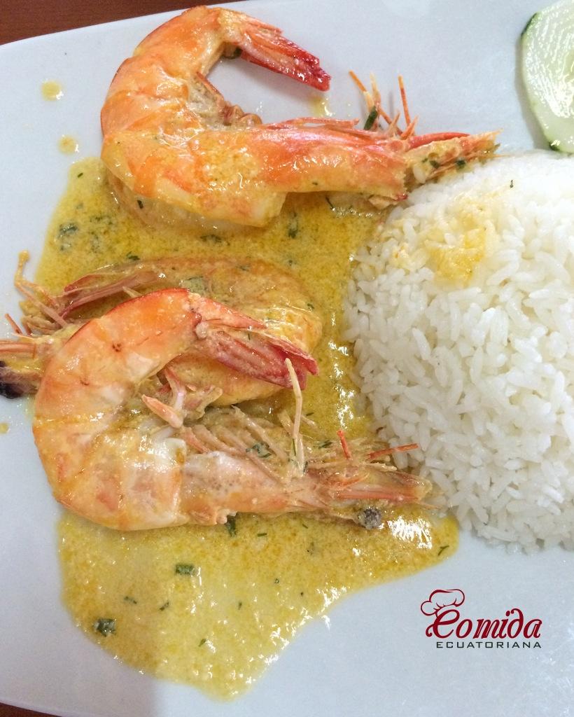 Camarones O Langostinos Al Ajillo Recetas De Comida Ecuatoriana