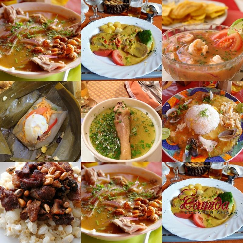 Recetas de Comida Ecuatoriana