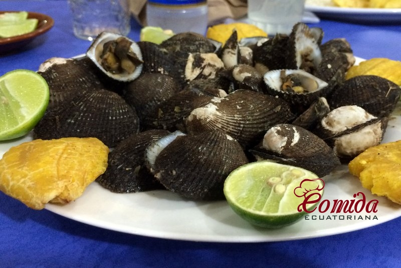 Receta de las conchas asadas ecuatorianas